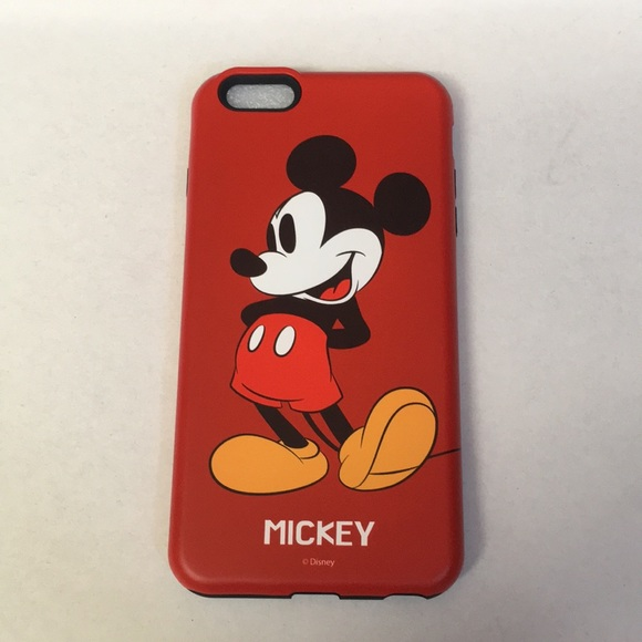 newest c72df 9c48a Mickey Mouse iPhone 6s Plus Case NWT